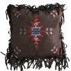 Carstens Inc. Turquoise Chamarro Embroidered CrossThrow Pillow