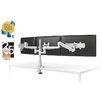 ESI Ergonomic Solutions Evolve Height Adjustable 3 Screen Desk Mount