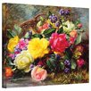 Rosalind Wheeler Albertson Roses from a Victorian Garden Painting Print on Canvas
