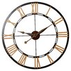 "Rosalind Wheeler Oversized 45"" Cologne Wall Clock"