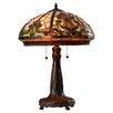 "Rosalind Wheeler 25"" H Table Lamp with Bowl Shade"