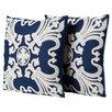 Rosalind Wheeler Scatter Cotton Throw Pillow (Set of 2)
