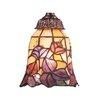 """Rosalind Wheeler Clemence 5.25"""" Glass Bell Pendant Shade"""