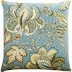 Rosalind Wheeler Osborne Floral Cotton Throw Pillow