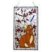 Rosalind Wheeler Tiffany Glass Window Panel