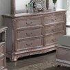 Rosalind Wheeler Barrell 6 Drawer Dresser