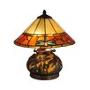 "Rosalind Wheeler Lamphere 16.75"" H Table Lamp with Empire Shade"
