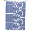 Bay Isle Home Sigsbee Fern 1 Floral Print Shower Curtain