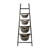 Bay Isle Home Plaid Ladder Basket
