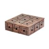 Bay Isle Home Teak Patterned Box