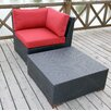 Bay Isle Home Scholtz 2 Piece Deep Seating Group with cushion