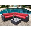 Bay Isle Home Scholtz 6 Piece Deep Seating Group with Cushion