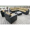 Bay Isle Home Scholtz 8 Piece Deep Seating Group with Cushion