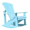 Bay Isle Home Trinidad Adirondack Rocking Chair