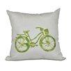 Bay Isle Home Life Cycle Geometric Outdoor Throw Pillow