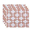 Bay Isle Home Connelly Bamboo 2 Geometric Placemat (Set of 4)