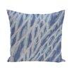 Bay Isle Home Grand Ridge Shibori Stripe Geometric Outdoor Throw Pillow