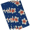 Bay Isle Home Golden Beach Hibiscus Blooms Floral Napkin (Set of 4)
