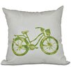 Bay Isle Home Golden Beach Life Cycle Geometric Outdoor Throw Pillow
