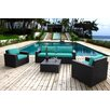Bay Isle Home Scholtz 5 Piece Deep Seating Group with Cushion
