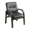 Symple Stuff Leather Side Chair