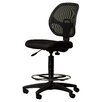 Symple Stuff Height Adjustable Drafting Chair with Footring