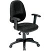 Symple Stuff High-Back Office Chair with Arms