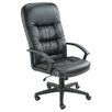Symple Stuff Adjustable High-Back Leather Executive Chair