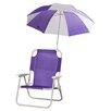 Zoomie Kids Alexus Umbrella Kids Beach Chair