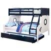 Zoomie Kids Elian Twin over Full Bunk Bed