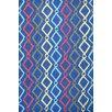 Zoomie Kids Zachariah Hand-Tufted Blue Area Rug