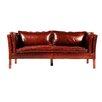 Jaxon Aubrey Leather Sofa