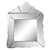 Astoria Grand Adelaide Scroll Trim Square Mirror