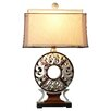 """Astoria Grand Clare 31""""H Table Lamp with Drum Shade"""