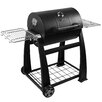 "Lokkii 26"" Perfection Barrel Charcoal BBQ Grill"