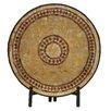 World Menagerie Kulkarni Beautiful Mosaic Platter with Stand