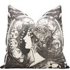 World Menagerie Santora Art Nouveau Zodiac Cotton Throw Pillow