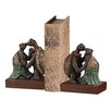 World Menagerie Sowa Kissing Turtle Bookend