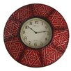 World Menagerie 8 Paneled Clock