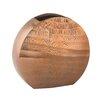 World Menagerie Aluminum Oval Vase
