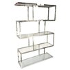 "Mercer41 Glazier 70.87"" Accent Shelves Bookcase"
