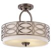 Mercer41 Ingo 3 Light Semi Flush Mount