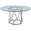 Mercer41 Viggo Round Glass Dining Table