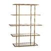 """Mercer41 Baldwin 62"""" Accent Shelves Bookcase"""