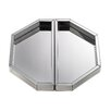 Mercer41 Mirrored Tray (Set of 2)