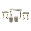 Mercer41 Bronwyn 5 Piece Coffee Table Set