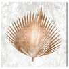 Mercer41 Palm Leaf Graphic Art on Wrapped Canvas