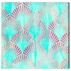 Mercer41 Mermaid Deco Graphic Art on Wrapped Canvas