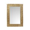 Mercer41 Rectangular Gold Mirror