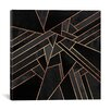 Mercer41 Black Night Graphic Art on Wrapped Canvas